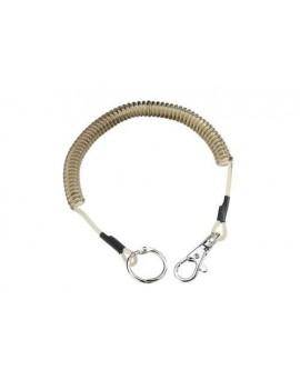 Nylon-Stahl-Spiralkette 32 cm