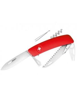 Schweizer Messer TICK TOOL rot + Säge