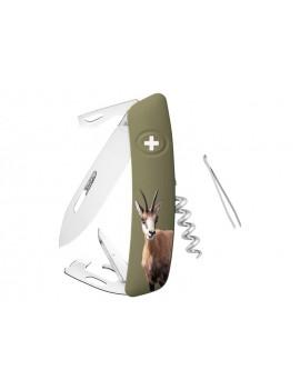 Schweizer Messer D05 Gamsmotiv