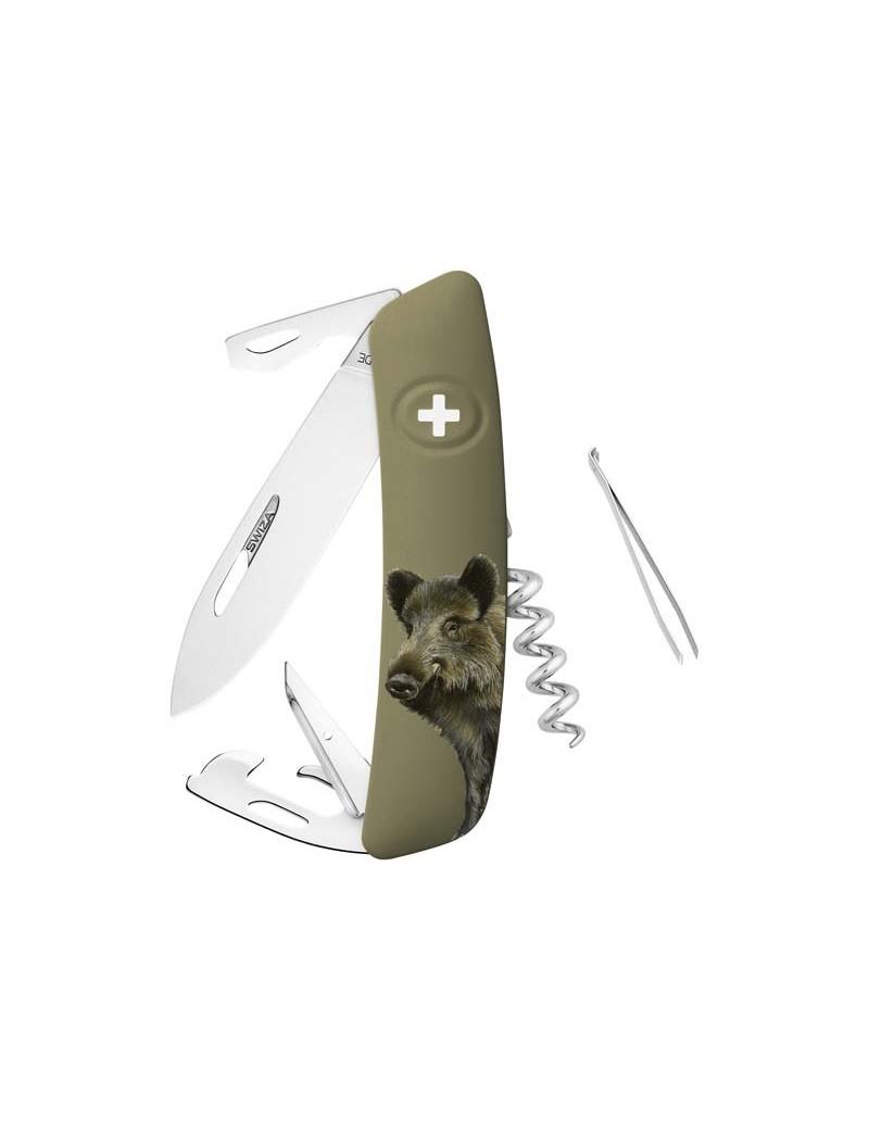 Schweizer Messer D05 Wildschwein