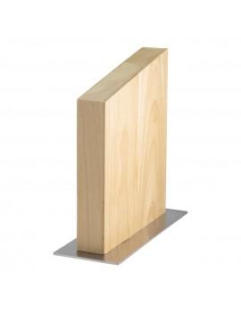 Kautschukbaum-Holz Messerblock