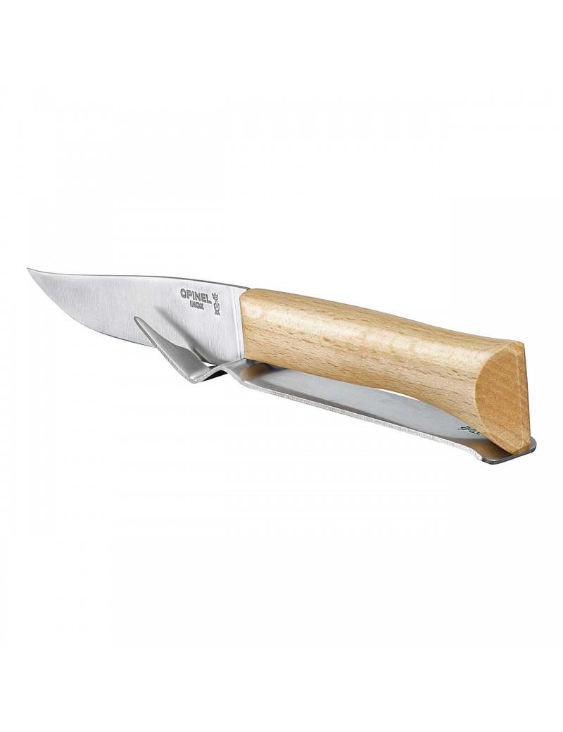 Käsemesser Set, Messer und Gabel