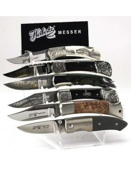Plexiglas-Display für 6 Messer (ohne Messer)